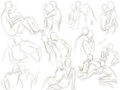 If you use any of my poses, it'd be nice to be credited. Thanks in advance! Another small sketch dump. Random fight scenes and poses. Any poses you'd li. Couple Picture Poses, Cute Couple Pictures, Couple Posing, Drawing Reference Poses, Drawing Poses, Art Reference, Drawing Tips, Drawing Stuff, Couple Drawings
