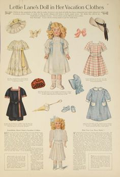 Lettie Lane's Doll in Her Vacation Clothes - https://jenwrenne.files.wordpress.com/2013/08/daisyette-vacation-clothes.pdf