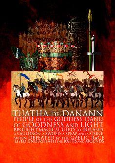 Tuatha Dé Danaan: Irish Mythology