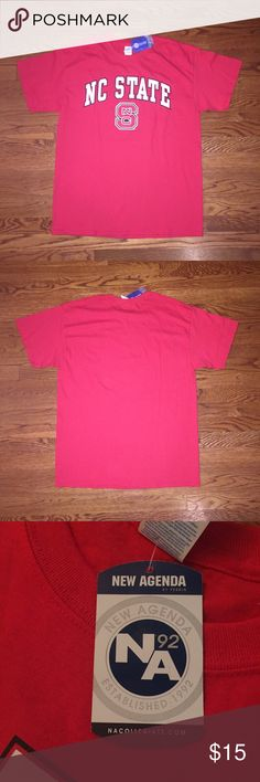 North Carolina State T-Shirt This is a NWT NC State T-Shirt in men's size L. Perfect for those who attend the school or plan to attend in the future! Shirts Tees - Short Sleeve