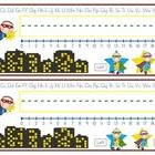 Planning on having a superhero theme in your room?  Need a deskplate?  Here is a good place to start.  Best for primary classroom, but I am more th...