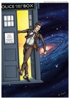 Art of the 10th Doctor, By Carlos Granja Robalino.