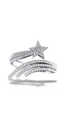 Comète bracelet in 18k white gold and diamonds. COMÈTE CHANEL#Bracelet_in_18K_white_Gold_and_Diamonds-J2831