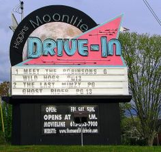 old drive in movie theater photos