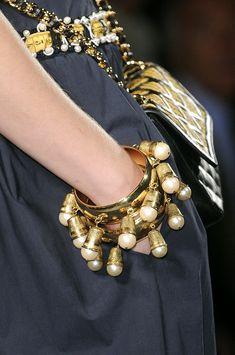 Moschino at Milan Fashion Week Spring 2011 - Details Runway Photos