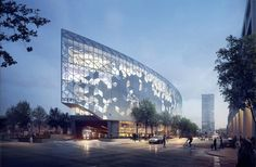 design revealed for calgary new central library by snøhetta   DIALOG - designboom | architecture