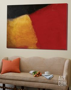 Le rouge et le noir Loft Art by Diane Lambin at eu.art.com