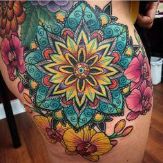 Mandala Design, Mandala Original, Tattoos For Guys, Tattoos For Women, Maching Tattoos, Succulent Tattoo, Succulent Bouquet, Orchid Tattoo, Back Tattoo Women