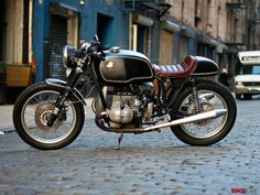 ..._Costello's BMW cafe racer.