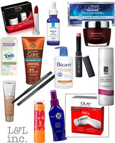 Best beauty products from drugstores by Lunch Pails & Lipstick