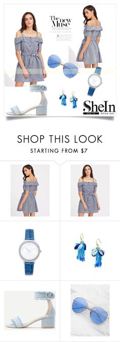 """""""Shein 8"""" by deyanafashion ❤ liked on Polyvore featuring Michael Kors and Rebecca Minkoff"""
