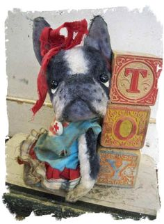 I have a little iTTY-BiTTY ToY Boston Terrier Dog available on EBAY right now http://http://cgi.ebay.com/ws/eBayISAPI.dll?ViewItem&item=17...