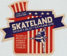 Skateland - Cleveland, Ohio by The Pie Shops, via Flickr