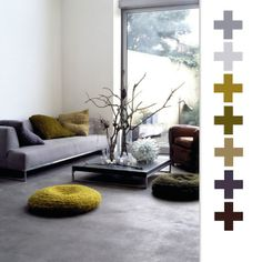 Love this palette. Delish greens, browns, grays. Earth tones but not boring.