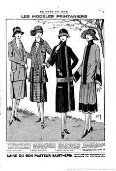 La Mode du jour | 1926-02-25 | Gallica