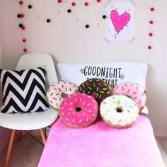 Donut pillows ♥