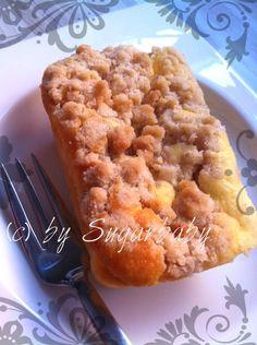 Käse-Frischkäse-Kuchen mit Streuseln