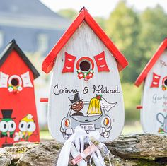 Wedding Birds, Wedding Car, Gift Wedding, Insect Hotel, Farewell Gifts, Nursery Letters, Thing 1, Side Wall, Nesting Boxes