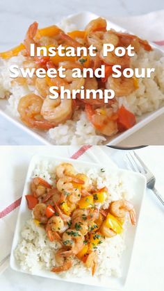 Instant Pot Sweet And Sour Shrimp This Instant Pot Sweet And Sour Shrimp Is One Of The Easiest Dishes To Make Total Cook Time 8 Minutes Which Makes This A Perfect Weeknight Meal The Bitter Side Of Sweet Instantpot Shrimp Easy Instant Pot Dinner Recipes, Easy Dinner Recipes, Dinner Ideas, Shellfish Recipes, Seafood Recipes, Sinigang, High Protein Recipes, Vegan Recipes, Entree Recipes