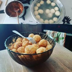Jednoduché tvarohové guľky so strúhankou - Receptik.sk Healthy Eating, Breakfast, Ethnic Recipes, Food, Basket, Eating Healthy, Morning Coffee, Healthy Nutrition, Clean Foods