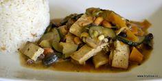 Ber ber směs Tofu, Potato Salad, Potatoes, Vegan, Chicken, Ethnic Recipes, Diet, Potato, Vegans
