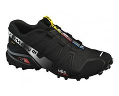SALOMON Speedcross 3 GTX Men's Trail Running Shoes, Black, US8 #Salomon #Shoes