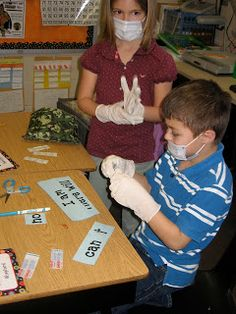 Buzzing About Second Grade: Contraction Surgery. What a great idea!