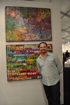 Artist: M. Dreeland /   Red Dot Art Fair /  Miami, Florida