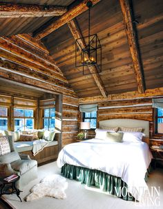 A newly built family vacation residence in Ketchum, Idaho, deftly blends past and present with stylistic influences.