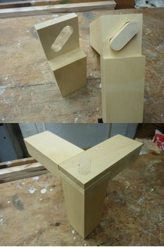 Woodworking joint by Linde