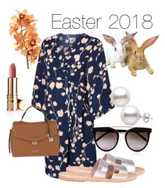 """My happy easter 2018 😊"" by elsyta on Polyvore featuring moda, Mama.licious, Ancient Greek Sandals, Calvin Klein y MICHAEL Michael Kors"