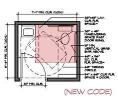 Attrayant Bathroom Wheelchair Accessible Bathroom Dimensions Home Design .