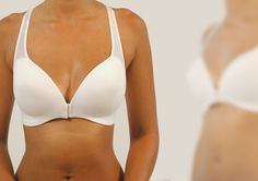 Symmetry by asymmetry - a two-part connectable bra - brassiere designed to solve physical asymmetry appearance in women after breast surgery due to breast cancer. Designed by Yael Winokur Industrial Design, Breast Cancer, Surgery, Women, Fashion, Moda, Women's, La Mode, Instructional Design