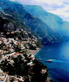 My first vacation overseas - Sorrento, Italy and the Deep Blue Sea.
