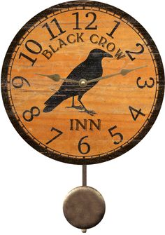 crow-clock