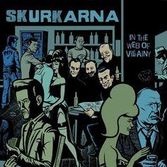 Skurkarna LP (2014) Lp, Illustration Art, Comic Books, Comics, Cover, Comic Book, Blanket, Comic, Comic Strips