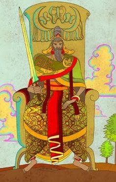 King of Swords - Nusantara Tarot - Rozamira Tarot - Picasa Web Albums