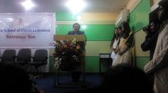 @ISC Pune ... As Chief Guest.... Addressing the Students during their Induction Ceremony !!!