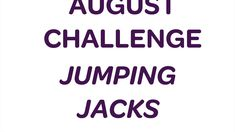 Join in our August Jumping Jack challenge. Hayley shows you 4 versions - from low impact jacks to super high energy jacks. Let's get jumping. High Energy, Energy Level, Jumping Jack Challenge, Jumping Jacks Workout, Cardiovascular Training, Strength Training Program, Major Muscles, Curves Workout, Track Workout
