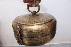 Antique Chapati Bread Box