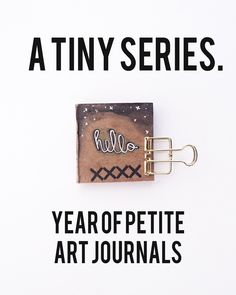 A Tiny Series // Year of Petite Art Journals #3
