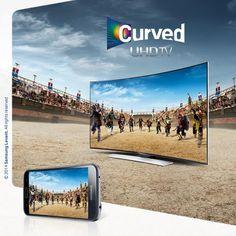 Samsung Curved UHD Tv Ultra HD