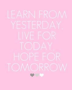 Hope for Tomorrow <3