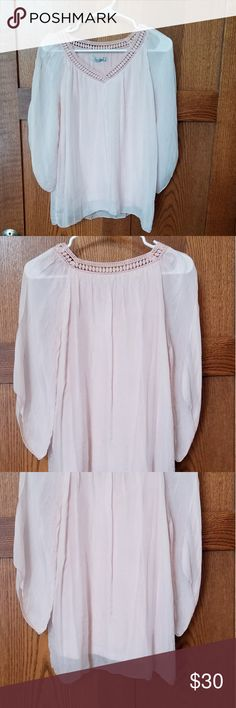 88f5d8be14d3fb Like New Condition Elena Baldi silk blouse. SZ  S Like new condition