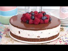 Tarta de Stracciatella con Yogur Griego SIN HORNO | Atentos al final del vídeo!!! - YouTube Sweet Recipes, Cake Recipes, Sweet Factory, Cookie Desserts, Sweet And Salty, Desert Recipes, Sin Gluten, Cheesecakes, Yummy Cakes