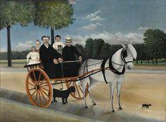 Henri Rousseau Old Junier's Cart (La Carriole du père Junier) Henri Rousseau Paintings, Oil On Canvas, Canvas Art, Canvas Size, Painting Prints, Art Prints, Avant Garde Artists, Art Database, Art Moderne