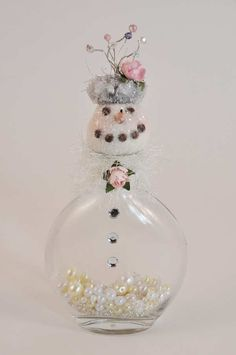 I have these adorable glass jars... and I'm looking for ways to use them...