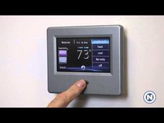 Carrier Infinity WiFi Thermostat - Heat, Cool, Auto, & Fan Only Modes (3 of 7) | #hvac #summer #hot #DIY