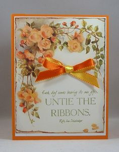 HYCCT1531B IC517 Untie the Ribbons_lb by Clownmom - Cards and Paper Crafts at Splitcoaststampers - her inspiration was http://hobby-mix.net/post313081994/