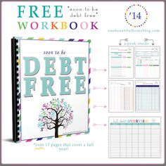 Free printable workbook for paying off debt and getting your finances in order! : Free printable workbook for paying off debt and getting your finances in order!